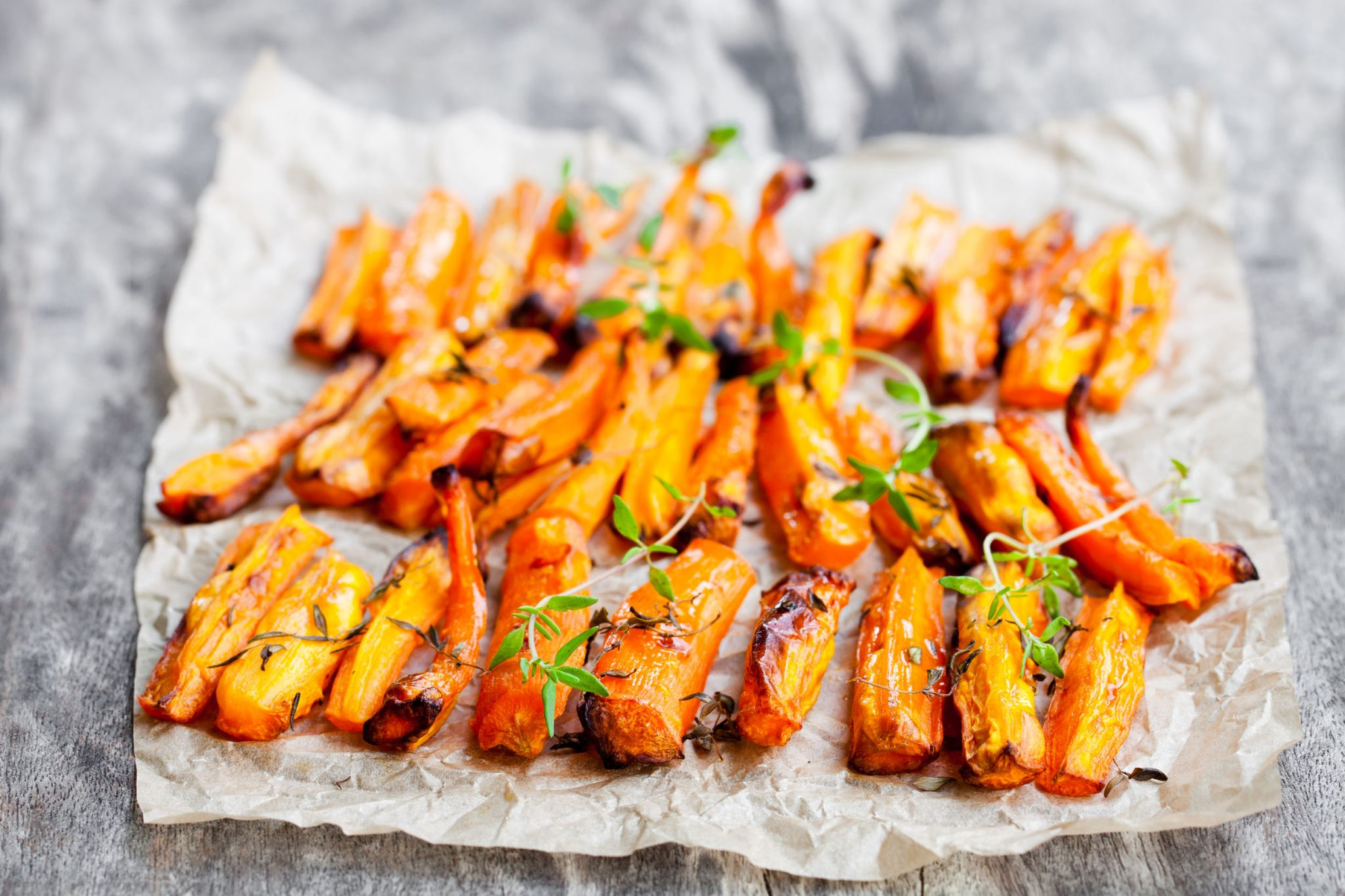 A delightful roasted parmesan carrots recipe.